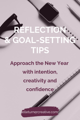These reflection and goal setting tips will help you plan your year so that you can approach the New Year with intention, creativity and confidence.