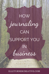 Why journaling supports creative entrepreneurs in business