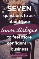 Your self talk affects your mindset, so if you want to develop a growth mindset to support you in your heart centred business, be mindful of the words that you say to yourself | Click to read more.