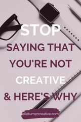 Don't let talk about left brain vs right brain thinking put you off starting your creative business.