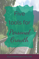 Let's talk about personal development! Yours, specifically, and the tools that can help make it a creative and fun process for you. Click through to find out my top five tools for personal development