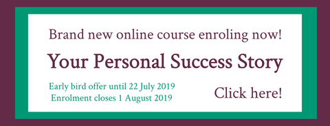Your Personal Success Story   Online course open for enrolment now