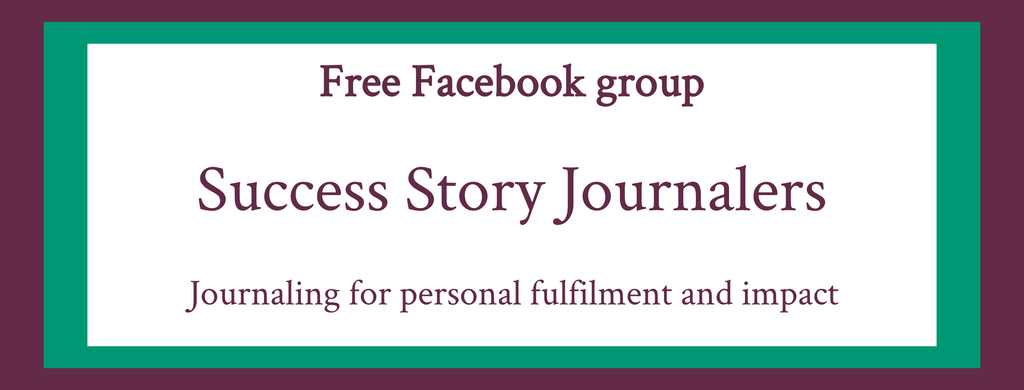 Success Story Journalers Facebook group
