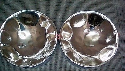 KaribPAN - F# Double Seconds STEELPAN w/ High Polish Chrome (Free FedEx Intl. Economy Shipping)
