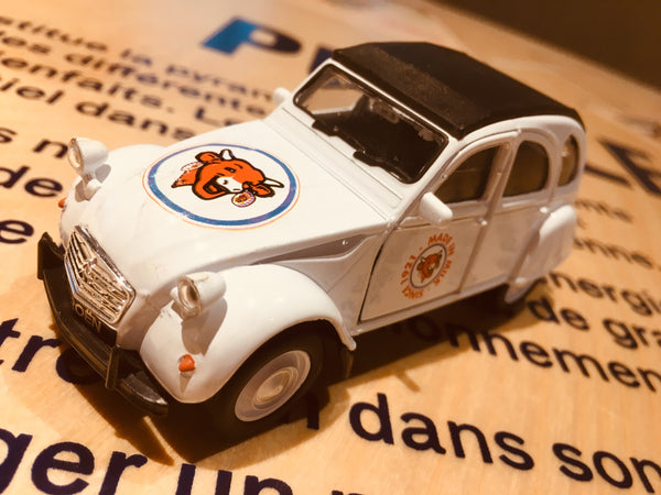 Citroën 2CV La vache qui rit® à retrofriction