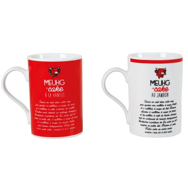Mugs La vache qui rit® - Lot de 2 mugs - Boutique La vache qui rit®