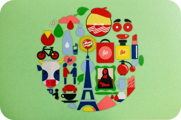 Set de table babybel® Paris - Boutique La vache qui rit®