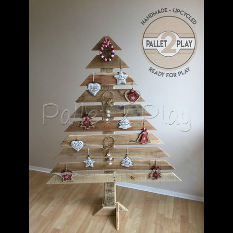Upcycled Pallet Christmas Tree