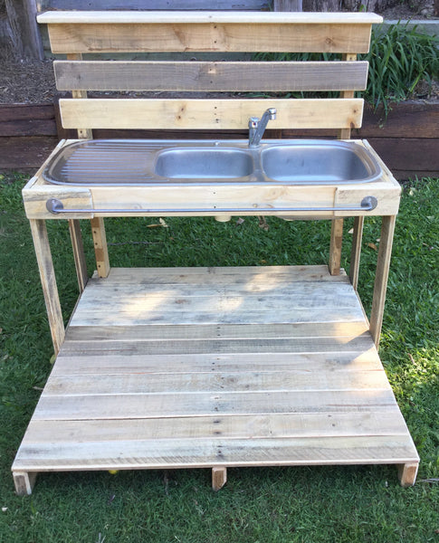 Handcrafted Mud Kitchen