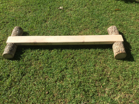 Handcrafted Wooden Balance Beam