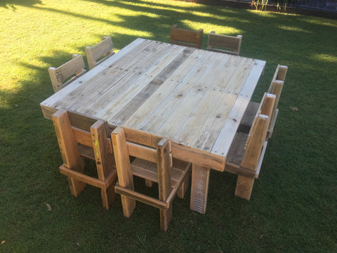 Large Children's Pallet Table