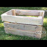 Upcycled Pallet Crates