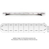 "60.5"" BS2 Mega-Flash Bullitt Basic Lightbar - Redtronic"