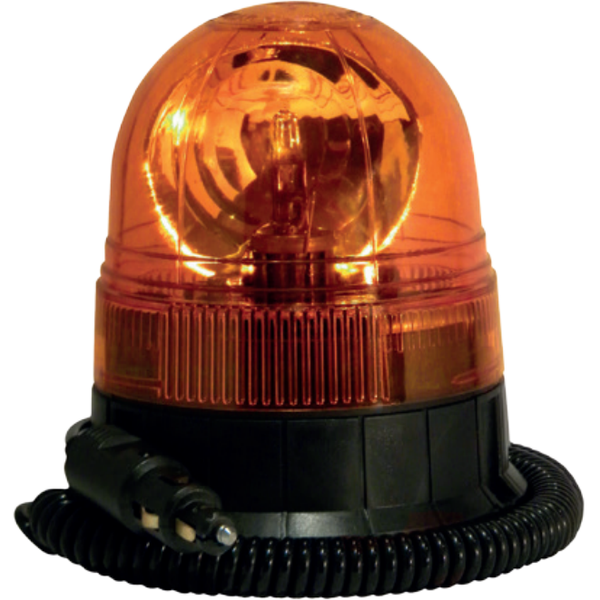 Magnetic (40mph) Rotating Acorn Beacon - Amber Only