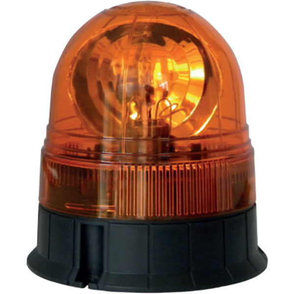 3 Bolt Rotating Acorn Beacon - Amber Only