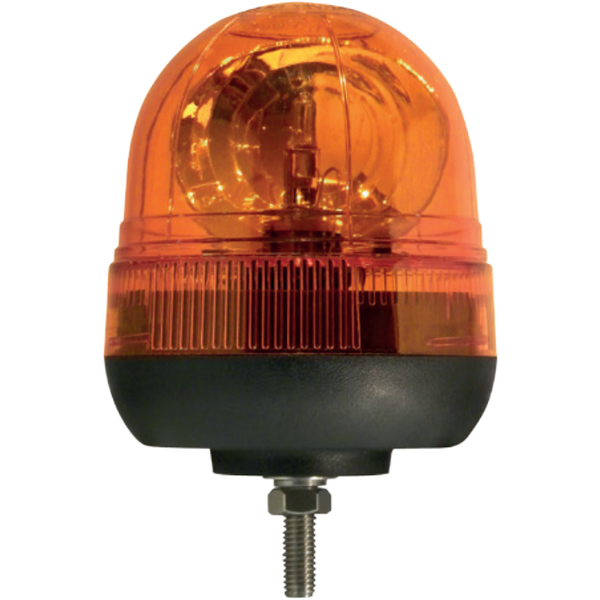 1 Bolt Rotating Acorn Beacon - Amber Only