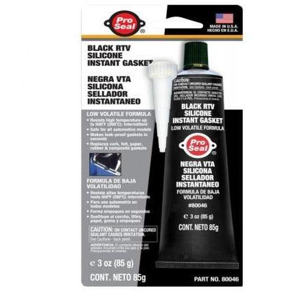 Black RTV Silicone - Perfect For Screwless Mounting! - VWS