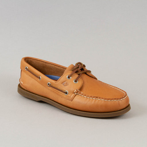 Topsider Authentic Original 2 Eye Boat Shoe in SAHARA LEATHER