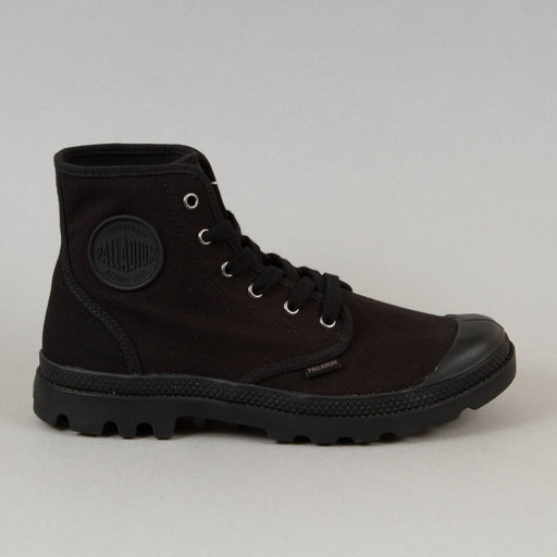 Pampa Hi Canvas Boot in BLACK