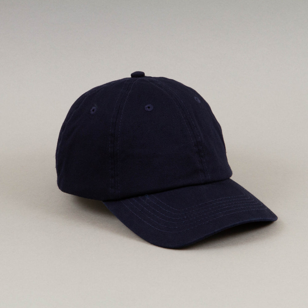 Cole Washed Baseball Cap in DRESS BLUES