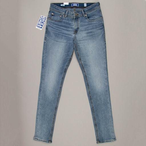 JUNIOR Liam Original Boys Skinny Fit Jeans in BLUE DENIM
