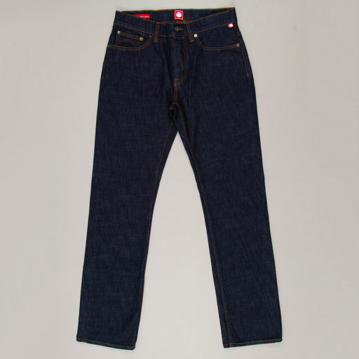 Burnage Rinse Wash Regular Fit Jeans in NAVYPRETTY GREEN - CACTWS
