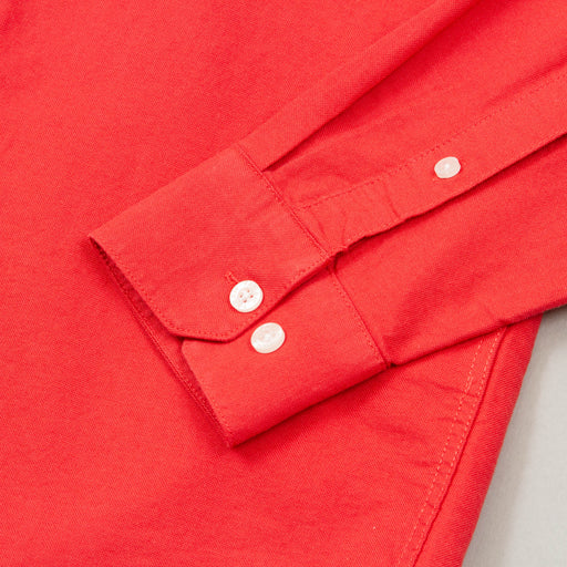 Brewer Slim Fit Shirt in RED COAT
