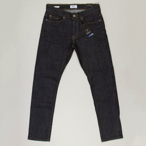 Loom Rinse Wash Slim Fit Jeans in BLUE DENIM