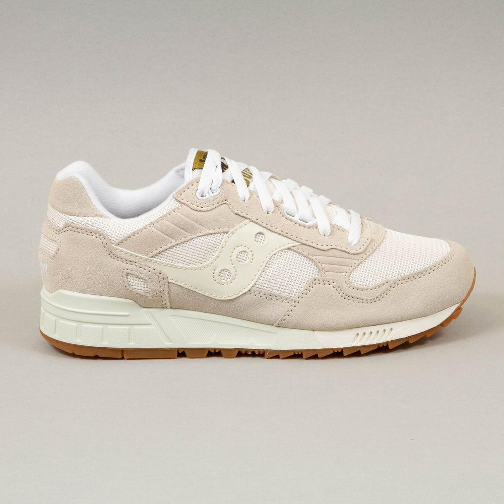 Shadow 5000 Vintage Trainers in TAN & WHITESAUCONY - CACTWS