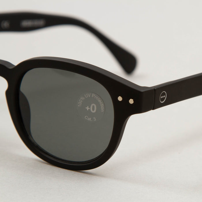 #C The Retro Sunglasses in BLACKIZIPIZI - CACTWS