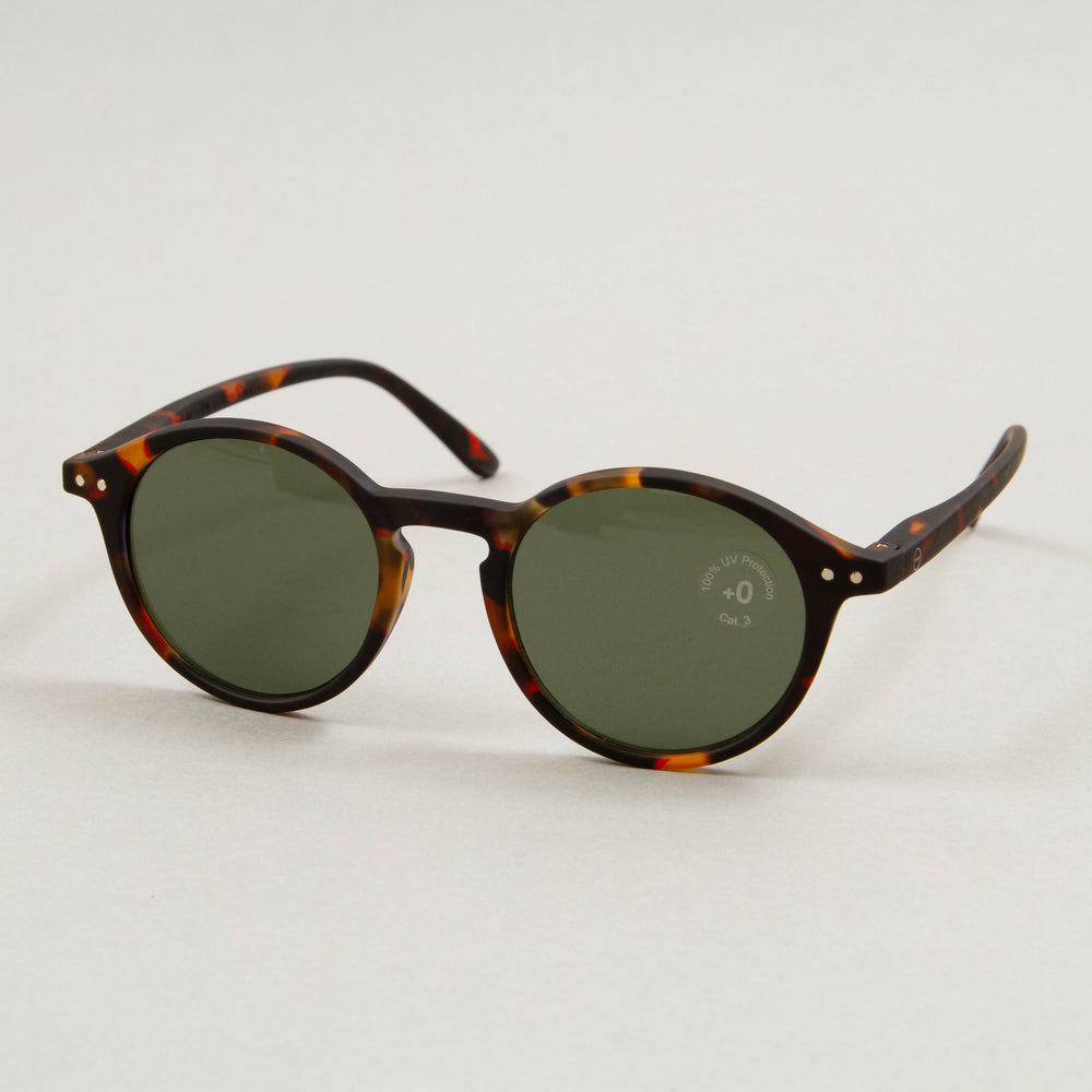 #D The Iconic Sunglasses in TORTOISE GREENIZIPIZI - CACTWS
