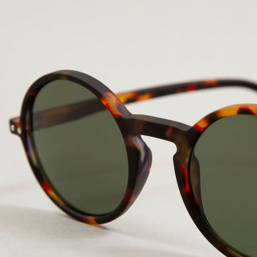 #G The Round Sunglasses in TORTOISE GREENIZIPIZI - CACTWS