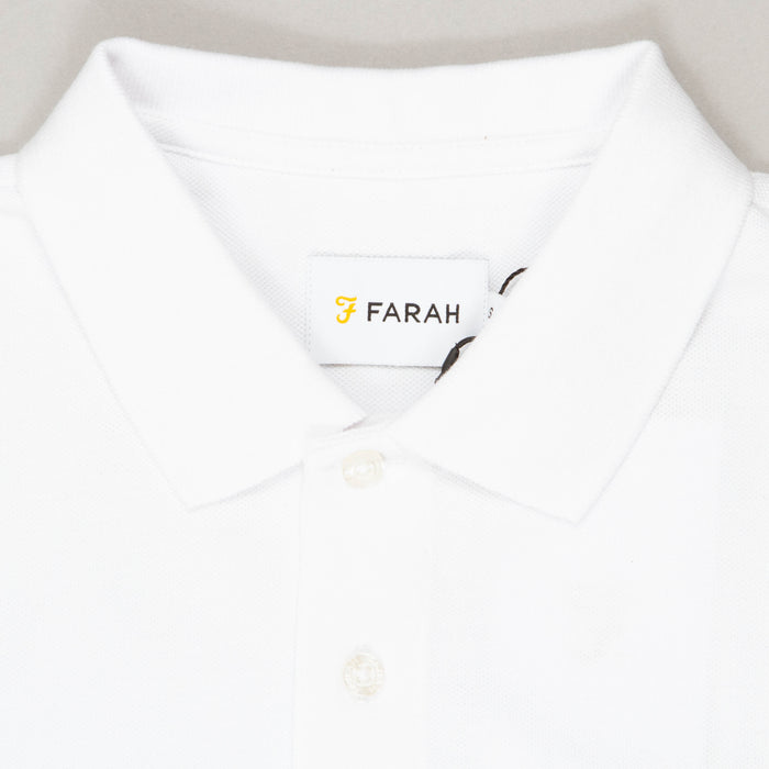 Blanes Polo Shirt in WHITEFARAH - CACTWS