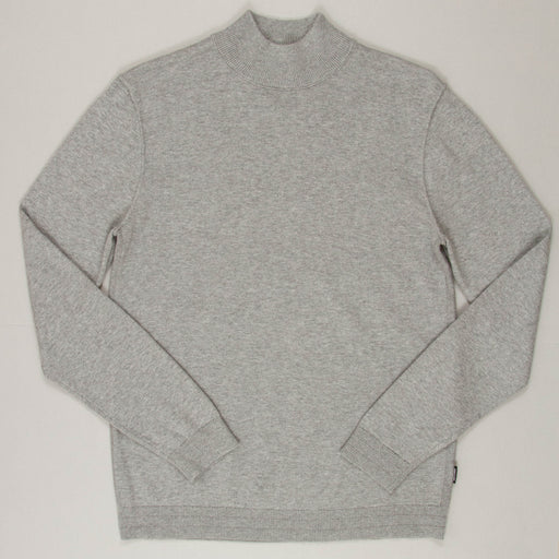 Alex High Neck Knit in GREY MELANGEONLY AND SONS - CACTWS