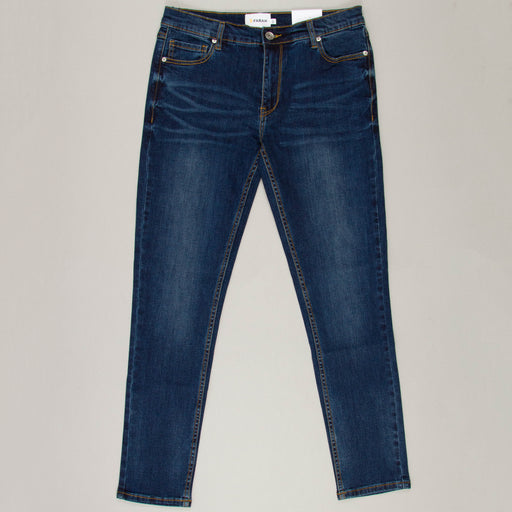 Drake Stretch Denim Slim Fit Jeans in MID DENIM