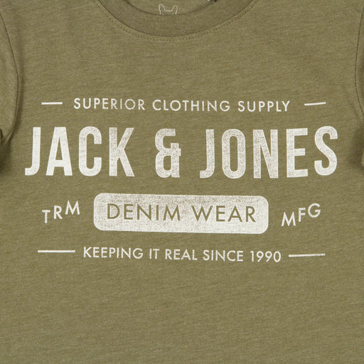 JUNIOR Jeans Boys Tee in OLIVE NIGHT