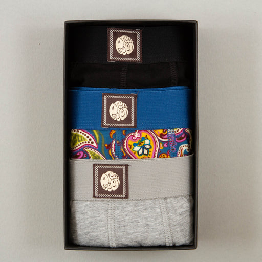3 Pack Boxer Shorts Gift Set in MULTI