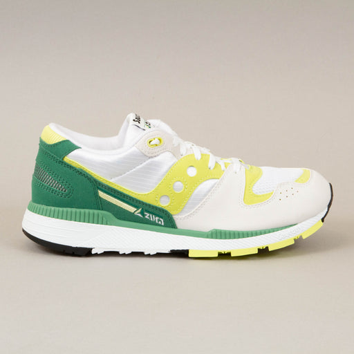Azura Trainers in WHITE, GREEN & LIMESAUCONY - CACTWS