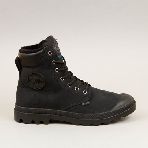 Pampa Sport Cuff Wool Lined Waterproof Boot in BLACK