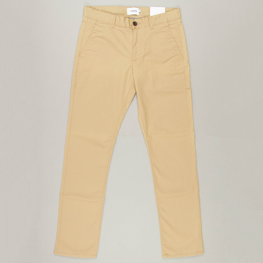 Elm Twill Chino in LIGHT SANDFARAH - CACTWS