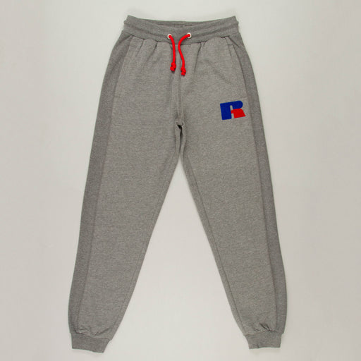 Heritage Ernest Cuff Jogger in GREY MARLRUSSELL ATHLETIC - CACTWS