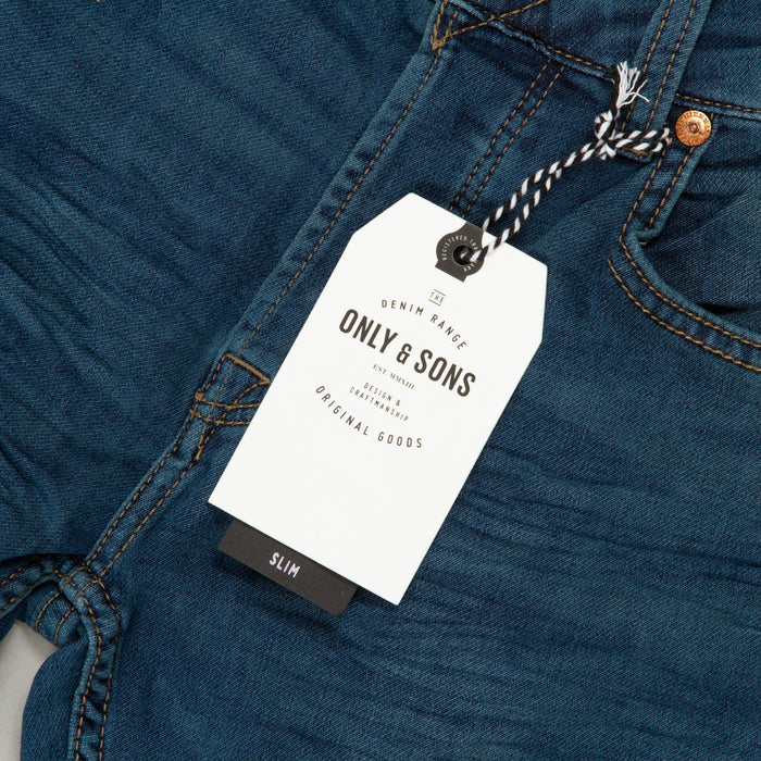 Loom Jog Slim Fit Jeans in BLUE DENIMONLY AND SONS - CACTWS