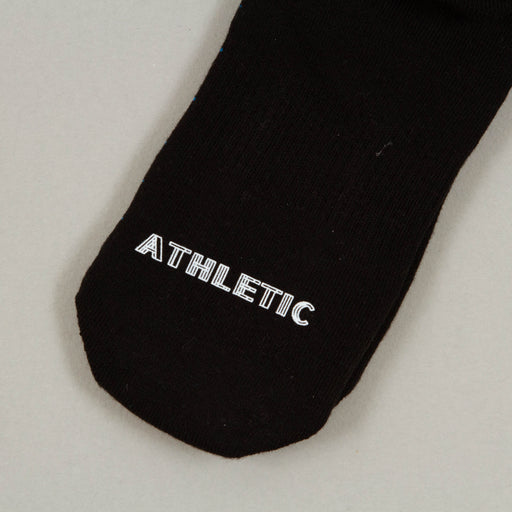 Athletic Grid Socks in BLUE, BLACK & WHITEHAPPY SOCKS - CACTWS