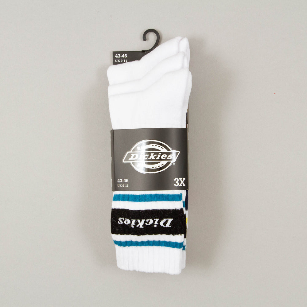 Madison Heights 3 Pack Socks in ASSORTED COLOURS ONEDICKIES - CACTWS