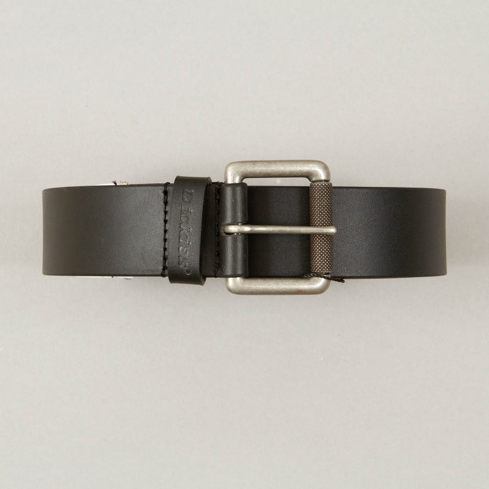 South Shore Leather Belt in BLACKDICKIES - CACTWS