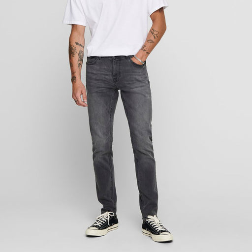 ONLY & SONS Warp Life Skinny Jeans in GREY