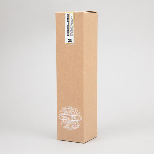 THOMAS STREET CANDLES #34 Cinnamon & Orange Reed Diffuser (200ml)