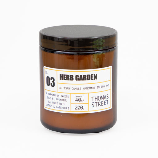 #3 Herb Garden Glass Candle 200g