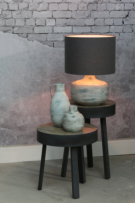 DODKE Lamp Base in SEA WASH