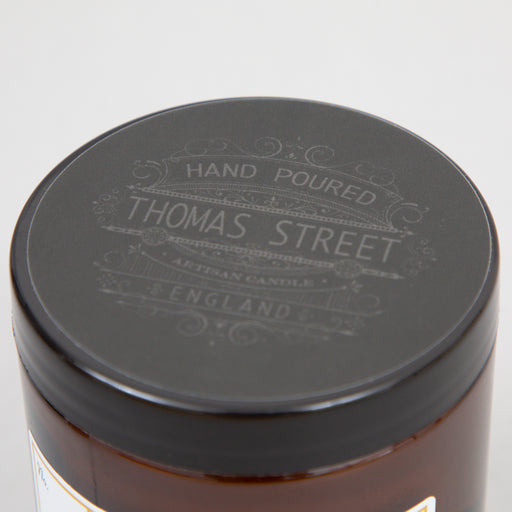 THOMAS STREET CANDLES #8 Barber Shop Glass Travel Candle (90g)